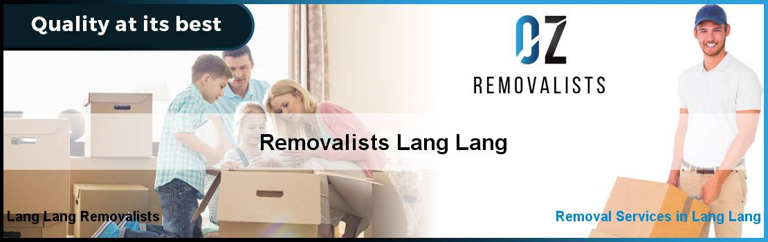 Removalists Lang Lang
