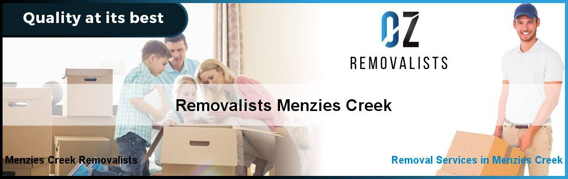 Removalists Menzies Creek