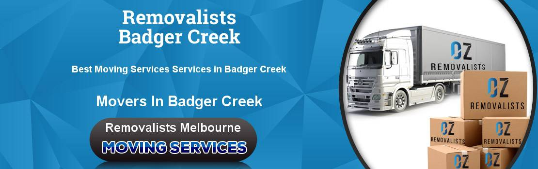 Removalists Badger Creek