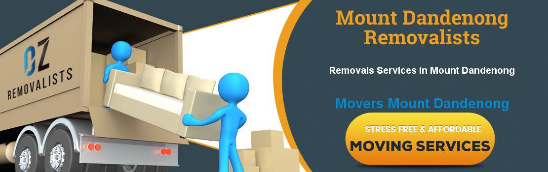 Removals Mount Dandenong