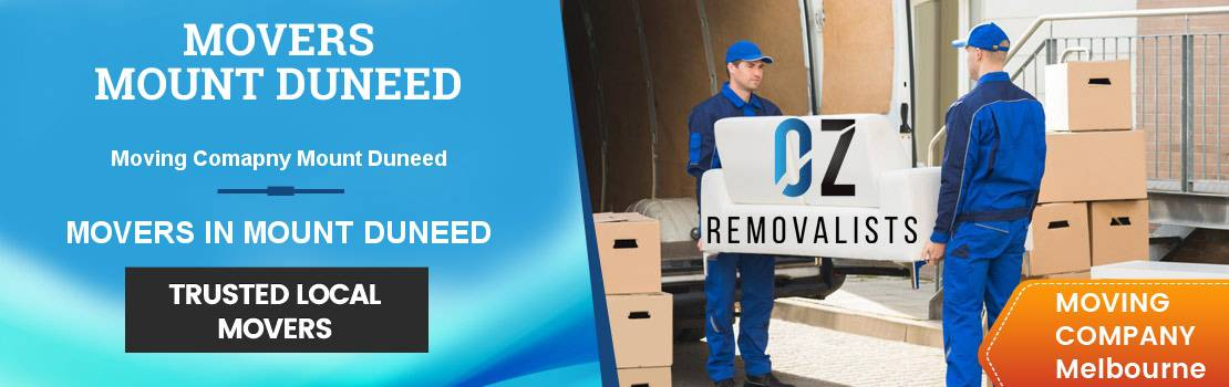 Removals Mount Duneed