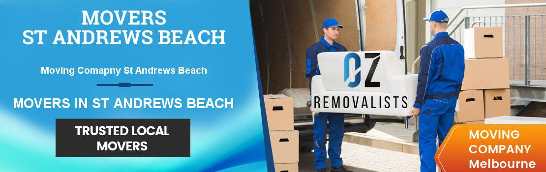 Removals St Andrews Beach