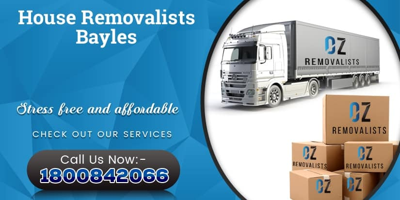 House Removalists Bayles