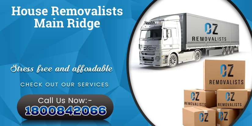 House Removalists Main Ridge