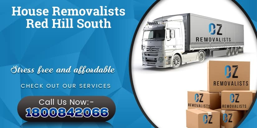 Red Hill South House Removalists