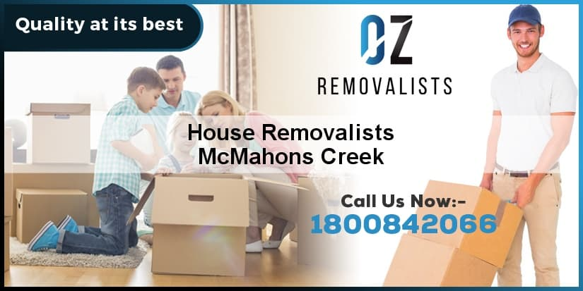 House Removalists McMahons Creek