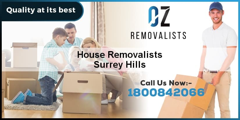 House Removalists Surrey Hills
