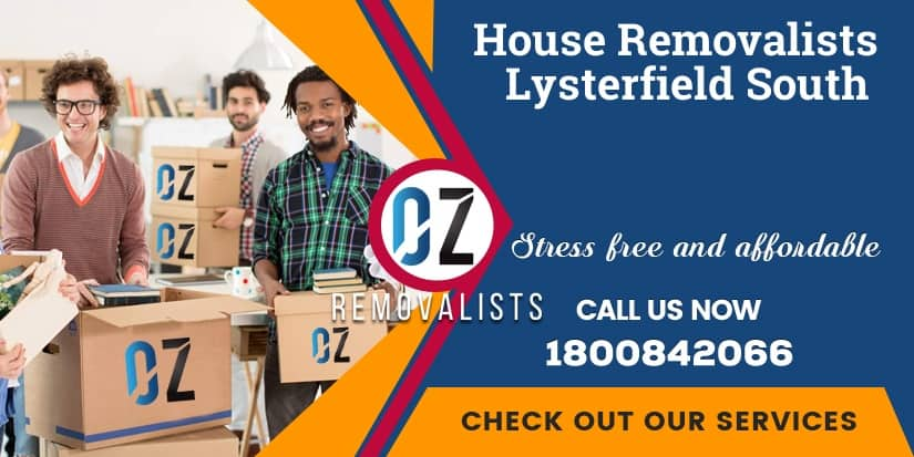Lysterfield South House Removals