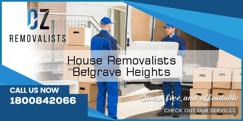 House Removals Belgrave Heights