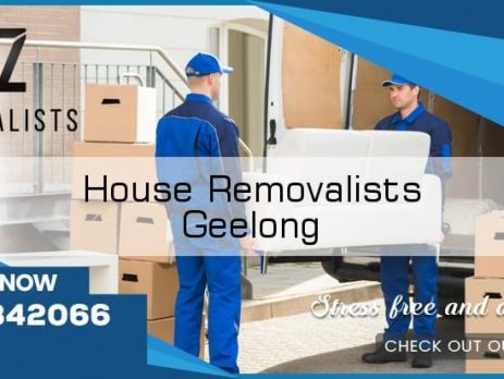 House Removals Geelong