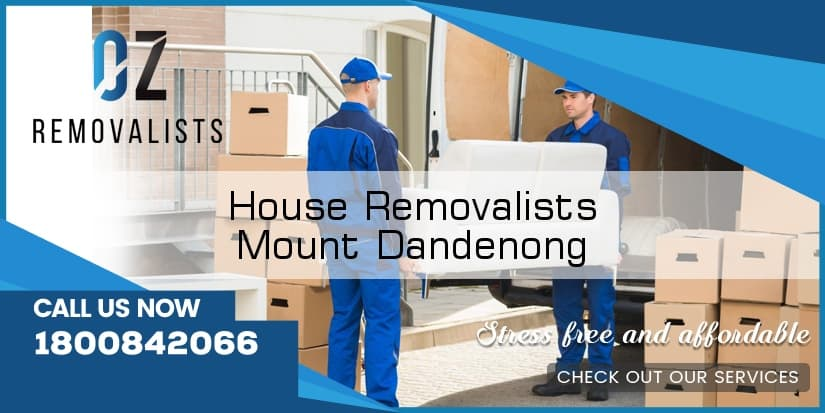 House Removals Mount Dandenong