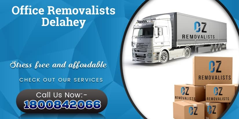 Office Removalists Delahey
