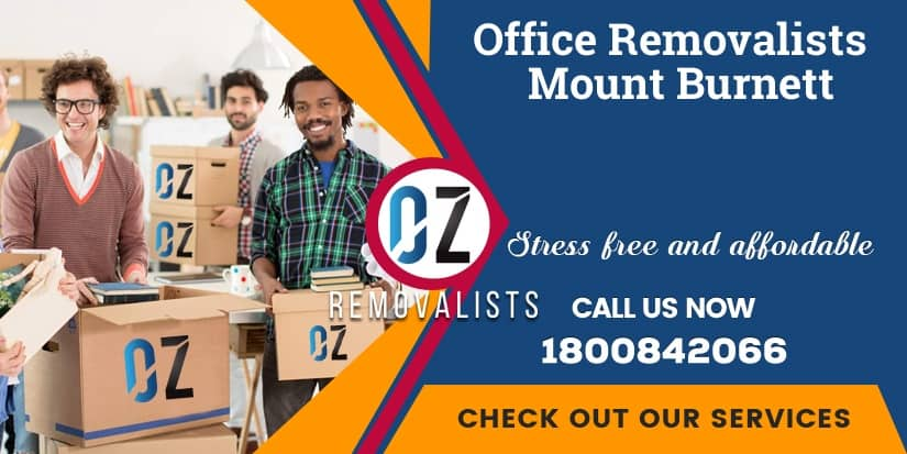 Office Relocalion Mount Burnett