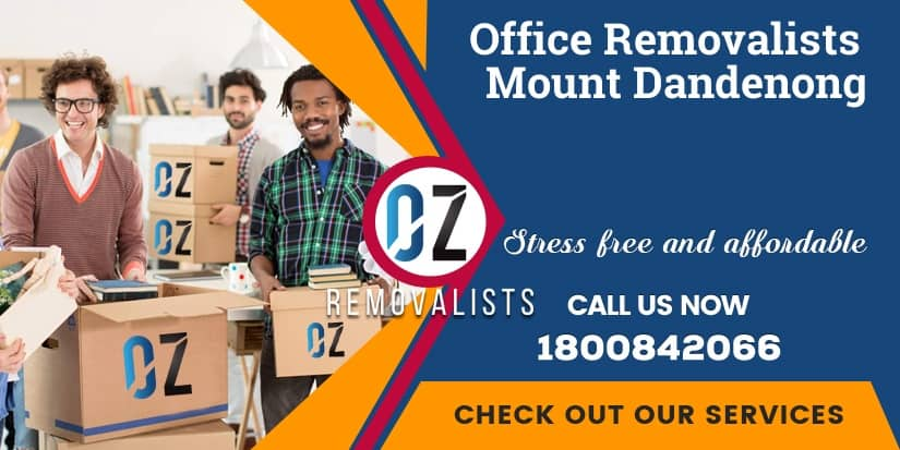 Office Relocalion Mount Dandenong
