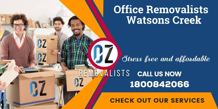 Office Relocalion Watsons Creek