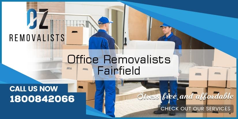 Office Movers Fairfield
