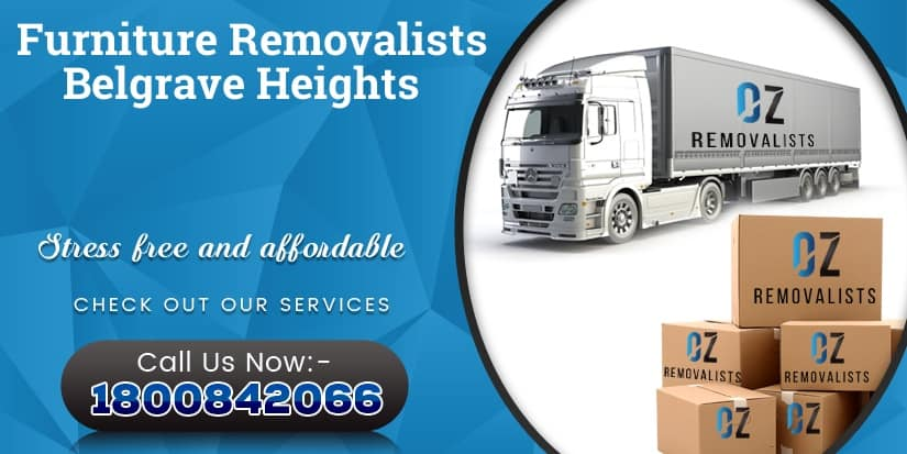 Furniture Removalists Belgrave Heights