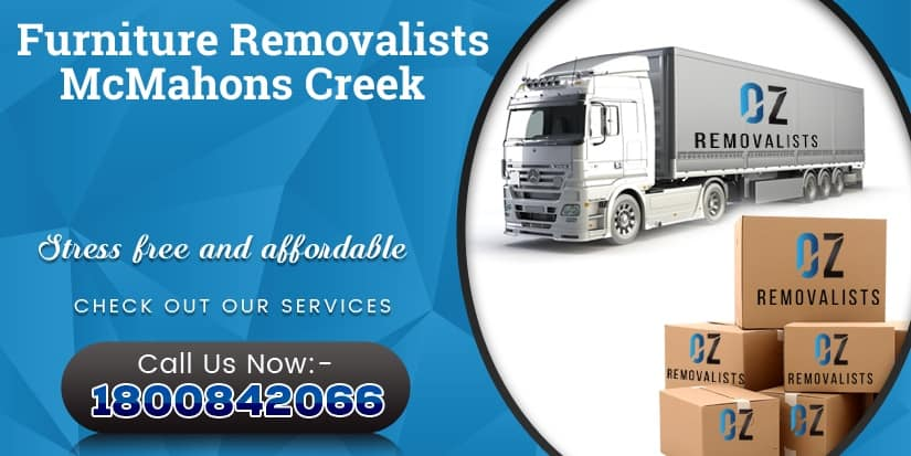 Furniture Removalists McMahons Creek