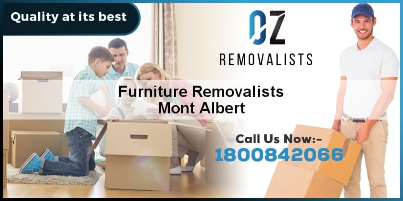 Furniture Removalists Mont Albert