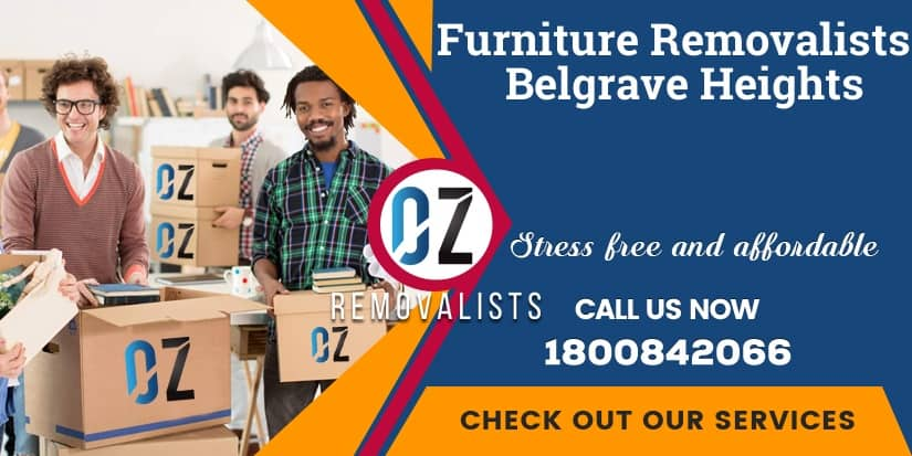 Furniture Removals Belgrave Heights