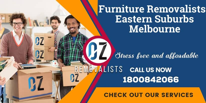 Furniture Removals Eastern Suburbs Melbourne