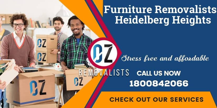 Furniture Removals Heidelberg Heights