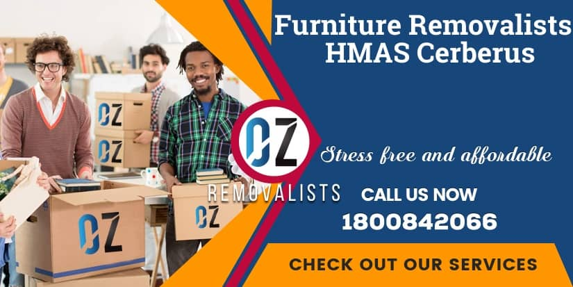 Furniture Removals HMAS Cerberus