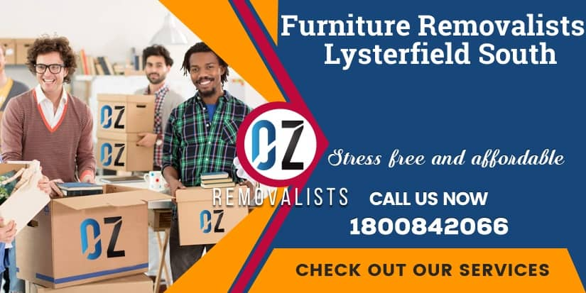 Lysterfield South Furniture Removals