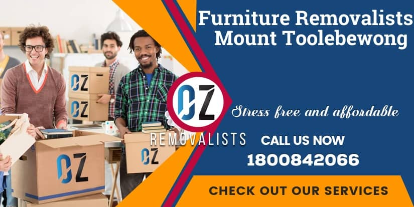 Furniture Removals Mount Toolebewong
