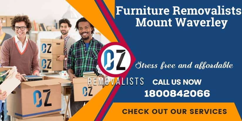 Furniture Removals Mount Waverley