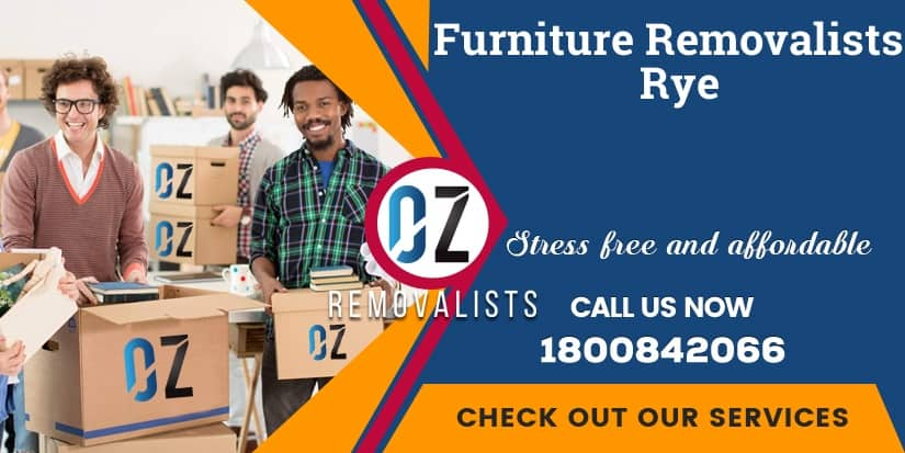 Furniture Removals Rye