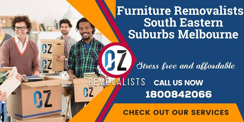 Furniture Removals South Eastern Suburbs Melbourne