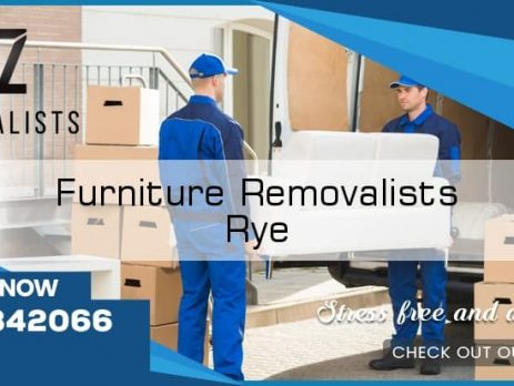 Furniture Movers Rye