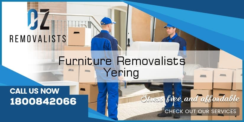 Furniture Movers Yering