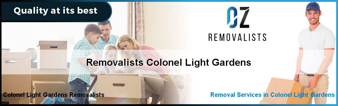 Removalists Colonel Light Gardens