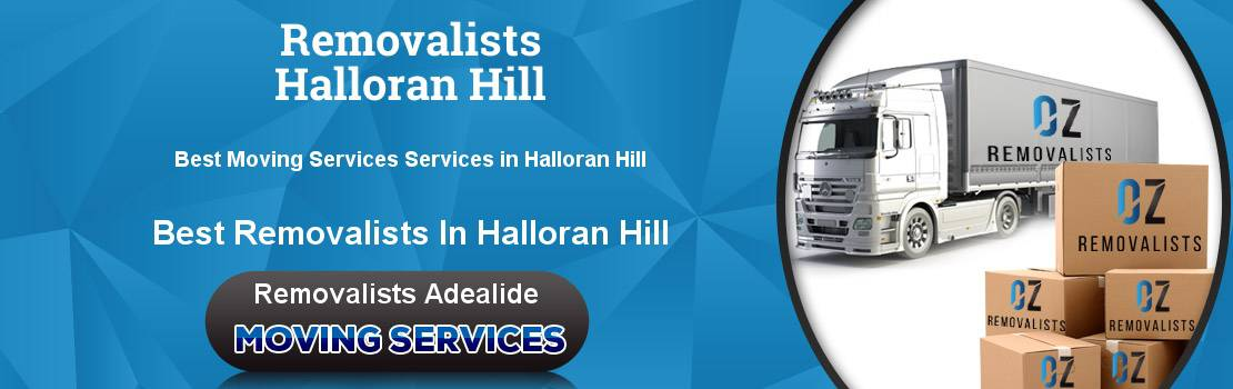 Removalists Halloran Hill