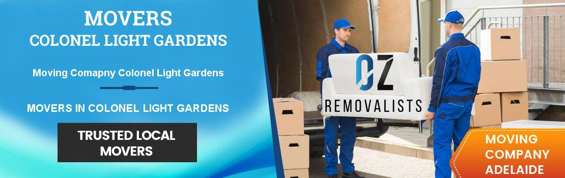 Movers Colonel Light Gardens
