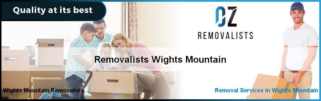 Removalists Wights Mountain