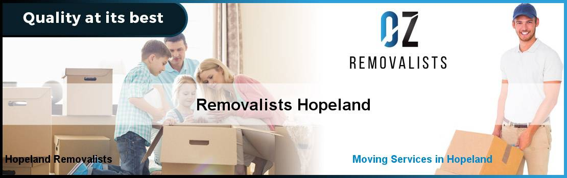Removalists Hopeland