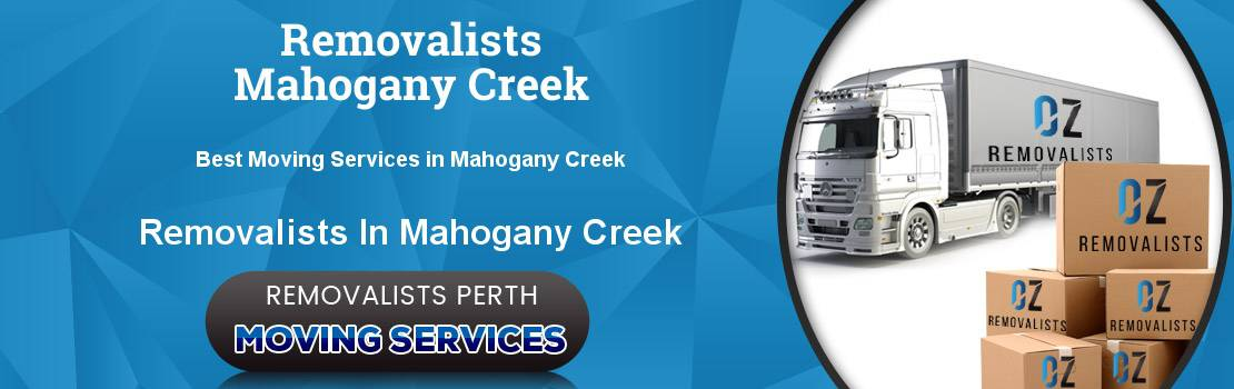 Removalists Mahogany Creek