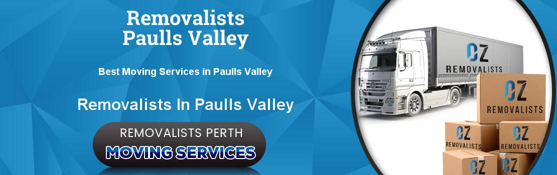 Removalists Paulls Valley
