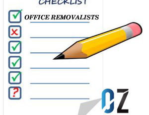 office removalists checklist