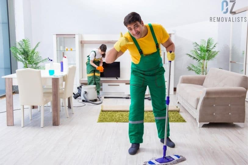 Calling For Professional Cleaning Service While Moving House