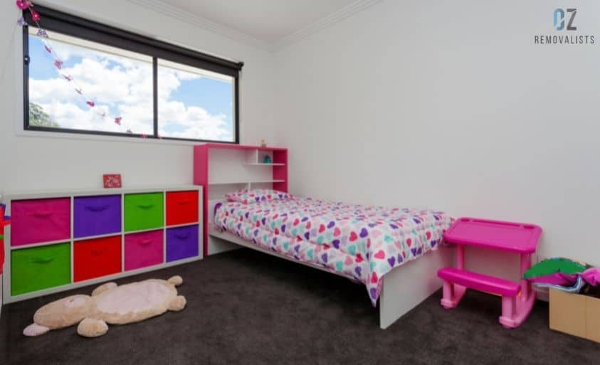 Prioritise on setting-up the kids room first